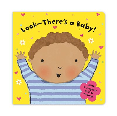 Book cover for Look-There's a Baby!